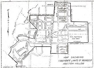 Preston Hollow, Dallas - A map of Old Preston Hollow