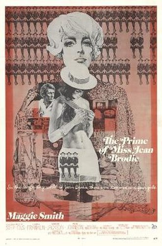 The Prime of Miss Jean Brodie (film) - Theatrical release poster