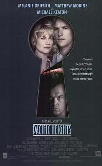 Pacific Heights (film) - Theatrical release poster