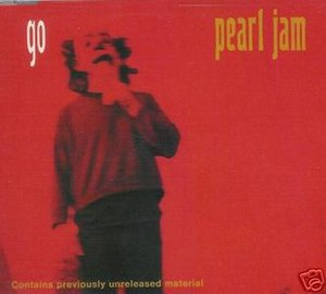 Go (Pearl Jam song) - Image: Pearl Jam Go single cover