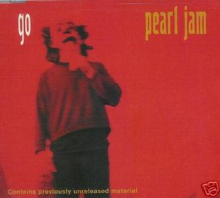Go (Pearl Jam song) single by Pearl Jam