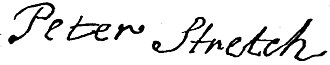 Peter Stretch - Image: Peter Stretch signature