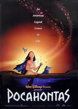 Pocahontas (1995 film) - Theatrical release poster