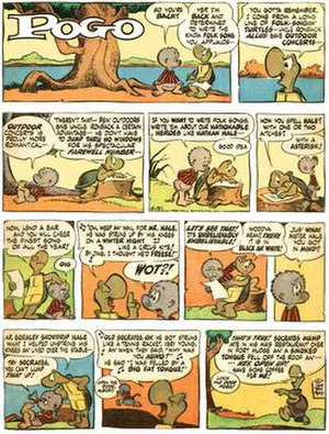 Publishers-Hall Syndicate - The Hall Syndicate's Pogo (May 31, 1964)