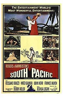 <i>South Pacific</i> (1958 film) 1958 film by Joshua Logan