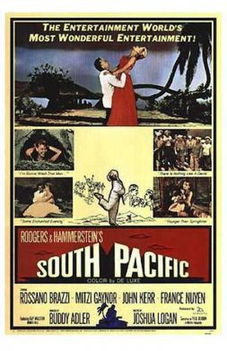 South Pacific (1958 film) - Theatrical release poster