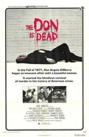 The Don Is Dead - Image: Poster of the movie The Don Is Dead