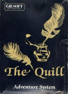 <i>The Quill</i> (software) program to write home computer adventure games