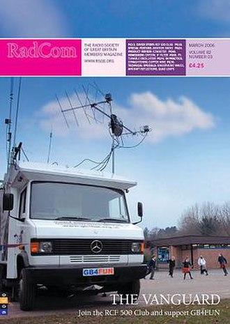 RadCom - Typical RadCom cover