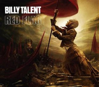 Red Flag (song) - Image: Red Flag (Billy Talent single cover art)
