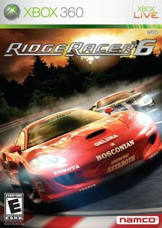 Ridge Racer 6 - Image: Ridge Racer 6