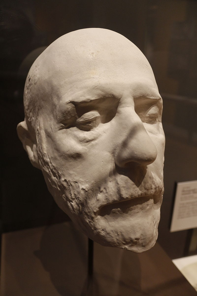 Robert E Lee deathmask.jpg