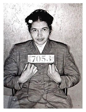 Rosa Parks Booking
