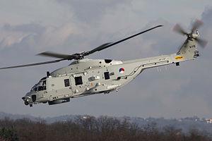 Royal Netherlands Navy - Royal Netherlands Navy NH-90 NFH at De Kooy Naval Air Station.