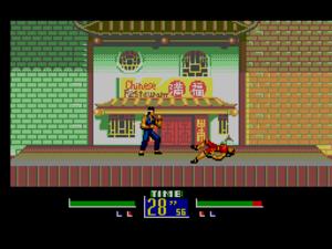 Virtua Fighter - Virtua Fighter Animation on the Master System