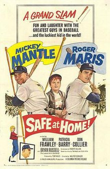 Safe at Home! (1962 movie poster).jpg