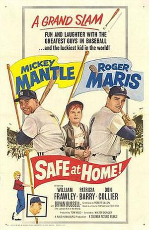 Safe at Home! - Image: Safe at Home! (1962 movie poster)