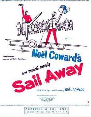 Sail Away (musical) - Sheet music (cover)