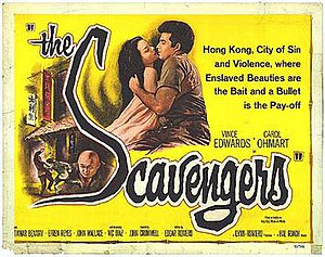 The Scavengers (1959 film) - Film poster