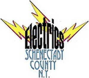 San Diego Aviators - Schenectady County Electrics logo used from 1999 to 2000.