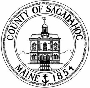 Sagadahoc County, Maine - Image: Seal of Sagadahoc County, Maine