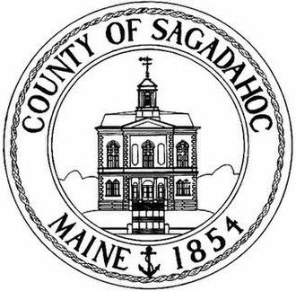 Sagadahoc County, Maine - Image: Seal of Sagadahoc County, Maine