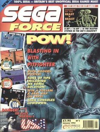 Sega Force - Image: Segaforce 1jan 92