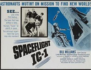 Spaceflight IC-1 - Original film poster