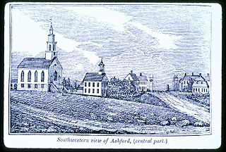 Ashford, Connecticut Town in Connecticut, United States