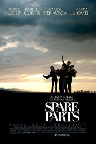 Spare Parts (2015 film) - Theatrical release poster