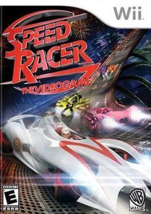 Speed Racer: The Videogame - Cover art