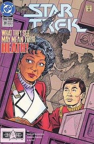 Gordon Purcell - Image: Star Trek 30vol 2(DC)