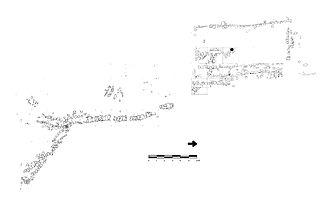Chocolá - Chocolá Structure 15 and associated stone drain