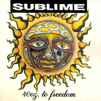 40oz. to Freedom - Image: Sublime 40Ozto Freedomalbumcover