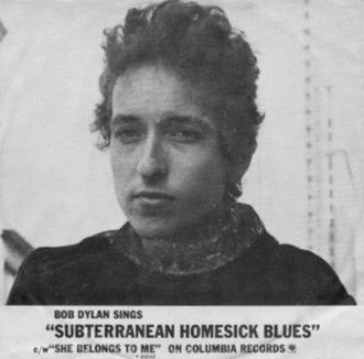 Subterranean Homesick Blues - Image: Subterranean Homesick Blues cover