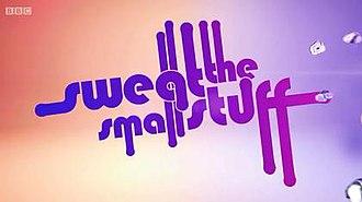 Sweat the Small Stuff - Image: Sweatthesmallstuff