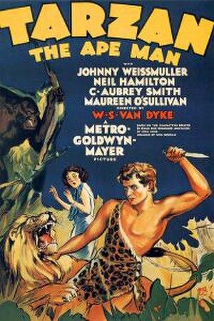 Tarzan the Ape Man (1932 film) - Theatrical poster