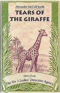<i>Tears of the Giraffe</i> book by Alexander McCall Smith