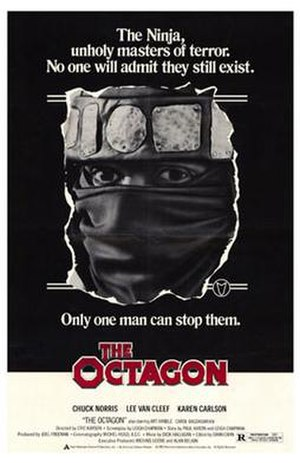 The Octagon (film) - Theatrical release poster