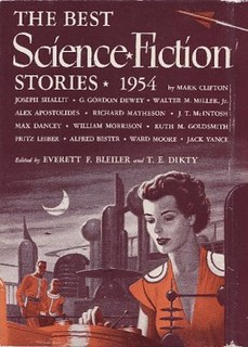 <i>The Best Science Fiction Stories: 1954</i> book by E. F. Bleiler