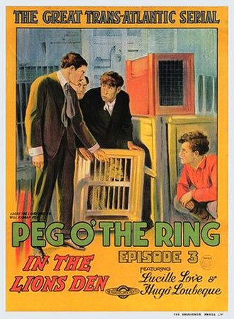 The Adventures of Peg o' the Ring - Theatrical poster to The Adventures of Peg o' the Ring