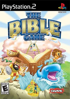 <i>The Bible Game</i> 2005 Christian party video game published by Crave Entertainment