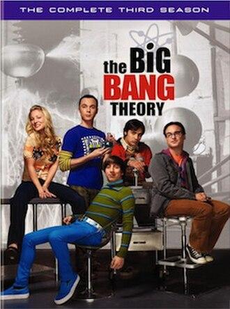 The Big Bang Theory (season 3) - Third season DVD cover art