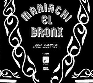 Cell Mates (song) - Image: The Bronx Cell Mates cover