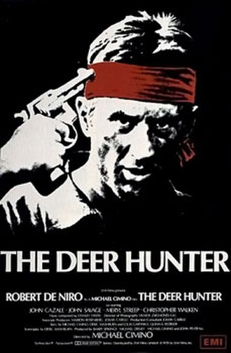 The Deer Hunter - UK theatrical release poster