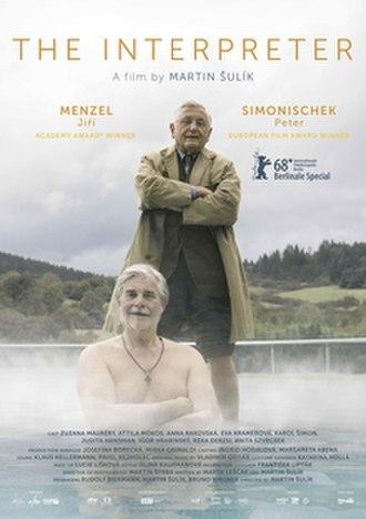 The Interpreter (2018 film) - Film poster