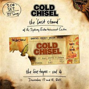 The Live Tapes Vol. 4 - Image: The Live Tapes vol 4 by Cold Chisel