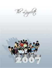 The Loyolite 2007 Cover Page.png