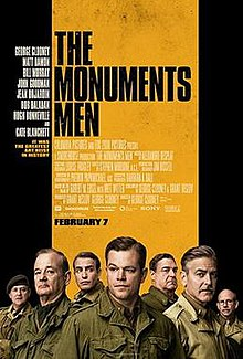 The Monuments Men (2014) CAM
