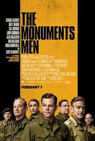 The Monuments Men - Image: The Monuments Men poster